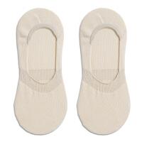 袜子女短袜浅口隐形袜时尚可爱棉袜竹纤维防臭硅胶船袜夏天薄女袜