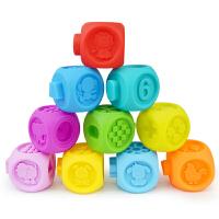 宝宝积木软胶6-12个月婴儿玩具1-3岁儿童益智玩具