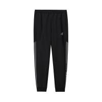 【超品预估价:93】361度男裤2020年夏新款时尚运动针织长裤修身运动裤男装