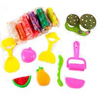 真彩 16色彩泥套装H241517儿童益智玩具橡皮泥粘土工具DIY儿童玩具易塑型无毒轻柔彩泥 当当自营