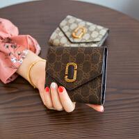 ?零钱包硬币包女 小钱包 短款学生手包拿钥匙包? 3_咖啡色 现货