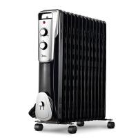 美的取暖器 NY2513-16J1W油汀家用升温电暖气暖气片13片电热制暖