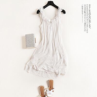 蕾丝边吊带裙宫廷风睡裙夏季公主性感睡衣女夏天连衣裙女士 发货周期:一般在付款后2-90天左右发货,具体发货时间请以与客服协商的时间为准