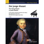 【预订】The Young Mozart - Easy Original Pieces for Piano: Scho