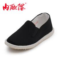 内联升 童鞋 传统手工千层底布鞋 宝宝鞋 老北京布鞋 5452C