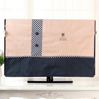 电视罩55寸电视机套子防尘罩液晶50英寸布艺挂式42寸盖布