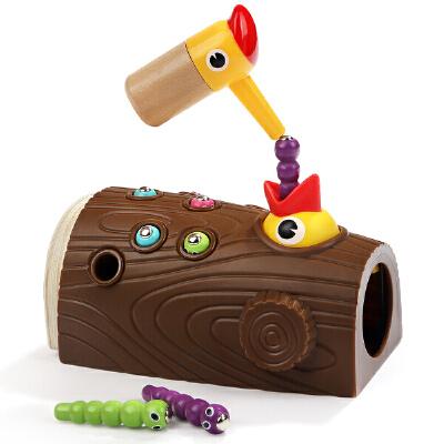 宝宝益智玩具1-2-3岁男孩婴儿童智力开发抓捉虫钓鱼玩具女孩 锻炼宝宝手眼协调 培养爱心