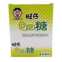 【包邮】旺旺集团 旺仔QQ糖(青苹果味)70g×10包 整盒装