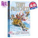 【中商原版】碟形世界2:异光 英文原版 The Light Fantastic: Discworld Novel 2