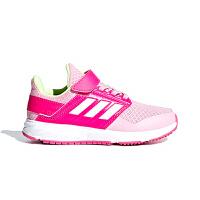 【4折�r:159.6元】阿迪�_斯(adidas)童鞋新款�和��\�有�男女中童透�饽��g�N跑步鞋F36104 玫�t/�\粉