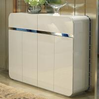 亿家达 烤漆时尚防尘鞋柜 现代简约门厅隔断欧式时尚简易玄关柜