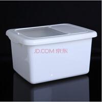 红兔子(HONGTUZI) 10KG米桶塑料大米收纳桶 储米缸储米箱带盖厨房米缸米罐米桶