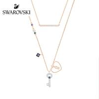 SWAROVSKI/施华洛世奇 Glowing新品可变二合一女项链套装心形钥匙锁5273295