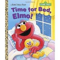 英文原版 芝麻街:阿莫,该睡觉了 Time for Bed, Elmo! (Sesame Street)