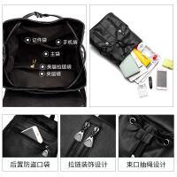 双肩包女2018新款韩版潮软皮时尚百搭学生书包女士小包背包女包包