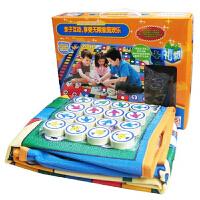 大号双面飞行棋儿童地毯式垫大富翁游戏棋益智棋类玩具亲子
