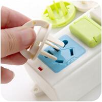 日系KM儿童安全防触电保护盖 电源插头插座盖防电插座防护盖