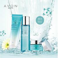 Avon/雅芳 滢泽高保湿系列组合套装(洁面乳 柔肤水清润型 面霜清润型)