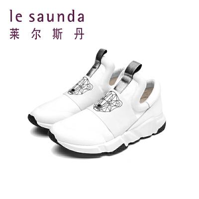 莱尔斯丹 秋冬专柜圆头舒适北极熊运动鞋小白鞋9T40601 小白鞋 北极熊 运动鞋 舒适
