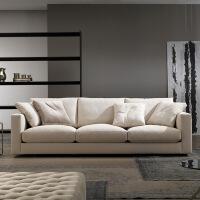 【一件3折】北欧舒适系亲肤沙发W1857 组合沙发转角沙发牛皮沙发羽绒沙发乳胶沙发
