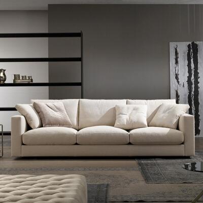 N空间 超感北欧沙发设计师款W1857 组合沙发转角沙发牛皮沙发羽绒沙发乳胶沙发支付礼品卡 送靠枕 亲肤透气可拆洗