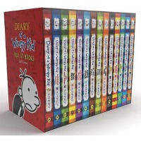 【中商原版】小屁孩日记 美版盒装 英文原版Diary of a Wimpy Kid Books1-14合集全套 14本故