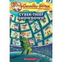 英文原版 老鼠记者68:对决网络大盗 Cyber-Thief Showdown (Geronimo Stilton #
