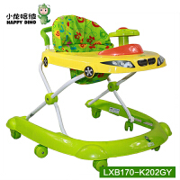 小龙哈彼LXB170学步车、助步车、玩具车三合一 独特U形底盘不碰脚