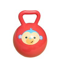 【当当自营】费雪FisherPrice 儿童4寸手柄球摇铃球6-12个月婴儿智力玩具宝宝手抓球皮球F0517-4红色