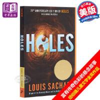 【中商原版】Holes 别有洞天 洞 660L 纽伯瑞奖 Louis Sachar 英文原版 7-12岁