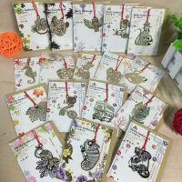 古风镂空 叶脉 金属 创意书签 学生复古典 中国风 礼物文具 动物 物件