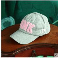 男女士帽子情侣帽 字母棒球帽鸭舌 帽韩版户外运动帽防晒帽
