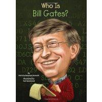 英文原版 比尔盖茨 名人认知系列 Who Is Bill Gates?