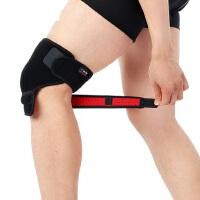 大小自由调节运动骑行护膝 薄款透气护具篮球护膝训练 户外跑步登山防风保暖护膝