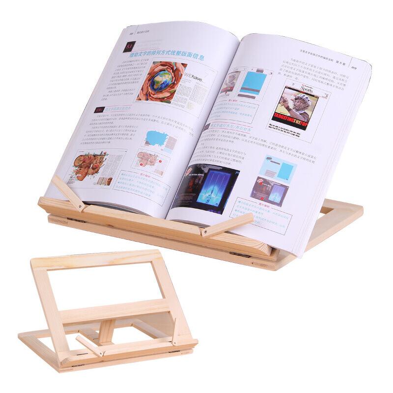 实木书立阅读架书夹看书架松木看书架ipod靠架读书靠书架