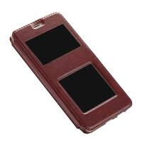 坚达 手机套 保护套 翻盖手机皮套 适用于 OPPO R9 小羊皮r9tm保护套 全屏翻盖钢化膜 全屏钢化膜 钢化玻璃膜