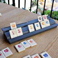 以色列桌游拉密麻将数字麻将牌 拉密牌 旅行标准版桌面聚会游戏