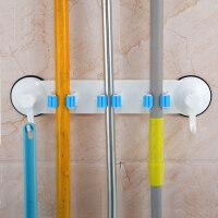 卫生间吸盘置物架厕所壁挂浴室用品用具吸壁式收纳架免打孔拖把架 拖把架
