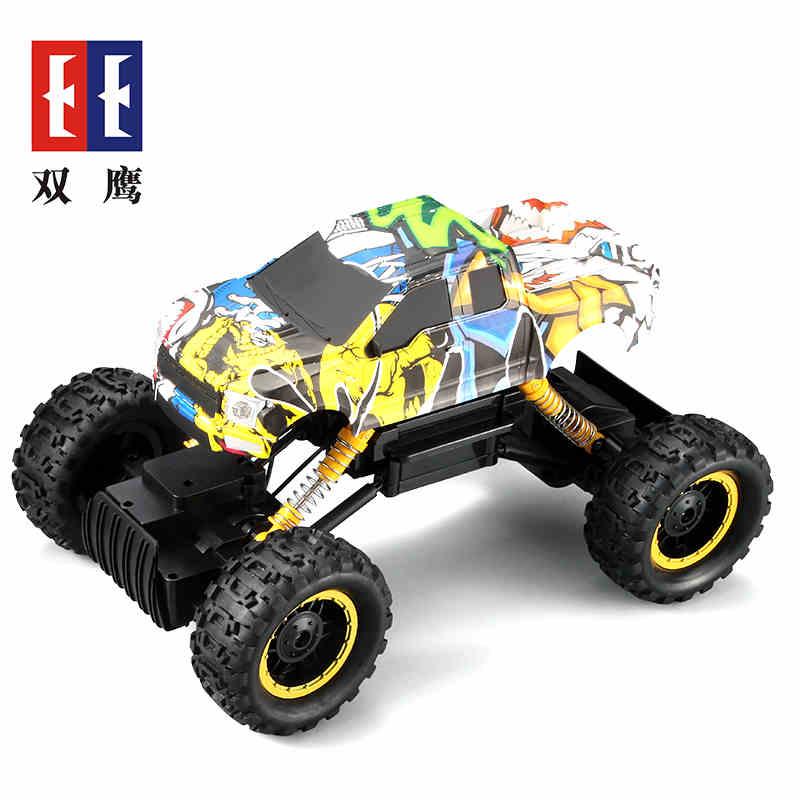 电动儿童玩具越野四驱攀爬车 皮卡车 大脚山地车男孩