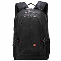 BET 双肩包系列时尚潮流笔记本男士背包BT92007BL黑色