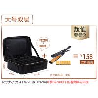 影楼化妆师化妆包品箱袋韩国大容量多功能小方包收纳手提旅行 +四合一夹板
