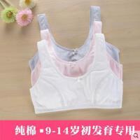 女大童纯棉初中学生文胸女9-14岁发育期少女儿童内衣运动背心