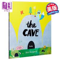 【中商原版】山洞里的小不点 英文原版The Cave 获奖绘本 趣味故事绘本 Rob Hodgson