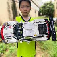 �犯叻e木保�r捷911�m博基尼汽�模型布加迪威��成年�y度玩具男孩
