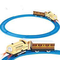 奋发托马斯电动轨道小火车套装组合轨道车电动益智男孩儿童 玩具