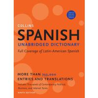 【预订】Collins Spanish Dictionary 9780061808258