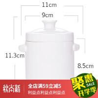 炖盅碗 带盖双盖陶瓷燕窝隔水内胆大小号骨瓷蒸盅煲汤盅家用碗炖罐