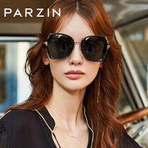 帕森偏光太阳镜女士复古潮流金属大框潮墨镜驾驶镜 2019新品91605