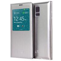 Gxi 三星Galaxy S5保护套 i9600翻盖皮套 S5智能天窗手机皮套