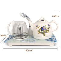 Chigo/志高 JBL-T300自动上水电热水壶保温烧水陶瓷上水壶泡茶煮茶壶套装
